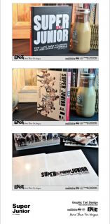 SJ SUJU Super Junior Notebook Diary Elf Deluxe Edition Fanmade Goods