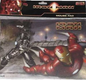 RARE Iron Man Movie Computer Laptop Notebook Mouse Pad Free USA Shipping