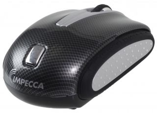 Impecca WM404 Traveling Notebook USB Optical Mouse Jewel Fish Pattern