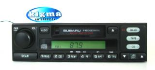 Subaru Legacy Outback 2000 2001 Cassette Player Weather Band P120 Tested 57640G