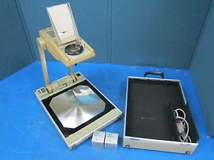 Buhl Model 200 Portable Folding Overhead Projector with Two Extra Bulbs