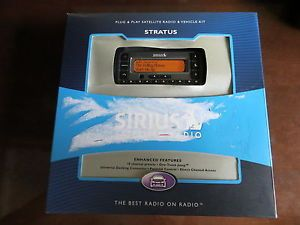 New Sirius SV3 TK1B Plug Play XM Satellite Radio Receiver w Car Kit