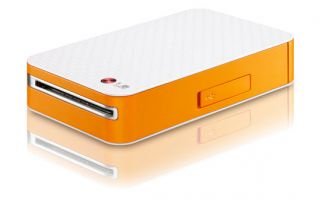 LG Pocket Photo PD221 Orange Mini Portable Photo Printer for Android Cell Phone 880103128500