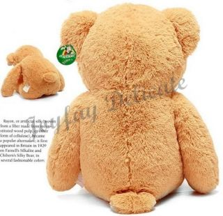 "Giant Huge Fat 63"" Brown Teddy Bear Stuffed Plush Toy"