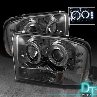 F250 F350 Superduty Excursion LED Projector Head Lights