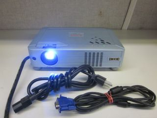 EIKI LC XB24 Brilliant LCD Home Theater Projector w VGA Power Cable 2040LMPHRS 8467840515484