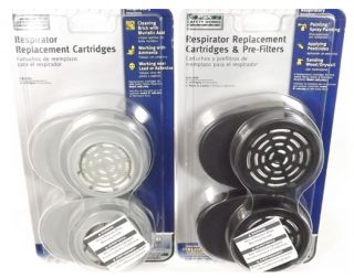 MSA Respirator Replacement Cartridges for Safety Mask Filters Dust Toxins