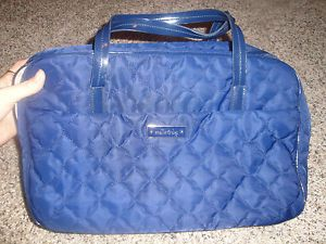 $130 Stella Dot Large Navy Jewelry Travel Case Tote Bag
