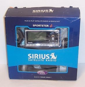 Sirius Sportster 4 SP4 Plug Play Satellite Radio Vehicle Kit