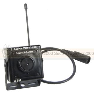 "2 4G Wireless 420TVL Mini 3 7mm Pinhole Camera 7"" TFT LCD Monitor Receiver Kit"