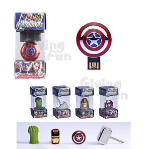 Authentic Avengers Marvel Captain America Shield 8GB USB 2 0 Flash Drive Disk