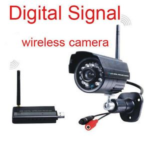 Wireless Security Camera System Night Vision