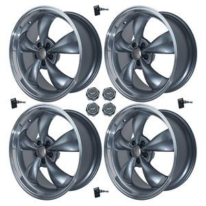 4 20x8 5 American Racing Torq Thrust Anthracite Wheels w Center Caps and Sensors