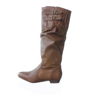 Steve Madden Branddy Knee High Boot Brown 5 5