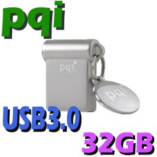 PQI 32GB 32G I Mini USB 3 0 Flash Pen Drive Memory Stick Key Thumb Disk