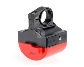 Red Electronic Bicycle Bike Cycling Alarm Bell Horn Siren Powered AAA Battery