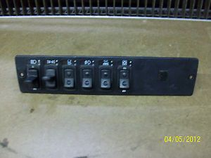 Kenworth Light Panel Switches Switch Interior T2000 KW 95 05 Good Condition