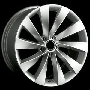 "18"" VW Turbine Style Matte Silver Wheels Rims Fit Audi A3 A6 C6 TT MKII"