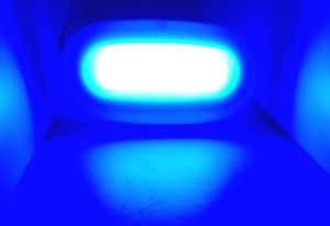 Marine Boat LED Surface Mount Blue Color Courtesy Light 4 Watt