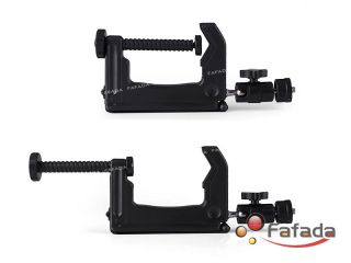 Mini Portable Swiveling Clamp Stand Tripod for Digital Camera Camcorder Aluminum
