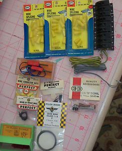 Lot of 13 Switch and Light Accessories N Scale Trains