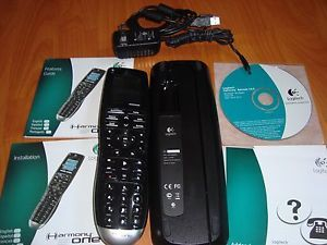 Logitech Harmony One Touch Screen Universal Learning Remote Control Excellent