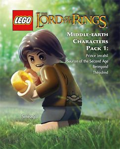 Lego Lord of The Rings Middle Earth Character Pack 1 Xbox 360 Live DLC New