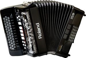 Roland Fr 18 Black V Accordion Blank USB Flash Drive