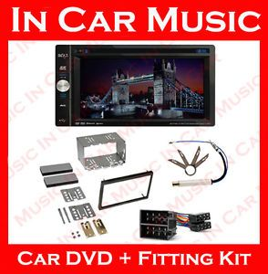 Double DIN CD DVD Player