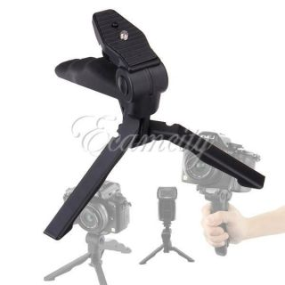 Mini Triopd Hand Grip for DC Digital Camera Camcorder Stabilizer Flash Stand