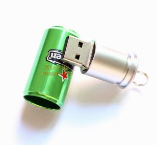 Metal Can USB Drive Memory Flash 1GB 2GB 4GB 8GB 16GB Thumb Stick Pendrives 2 0