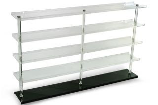 Clear Acrylic 5 Tier Wall Mount Table Display Rack 30 x 1 64 NASCAR Diecast Car
