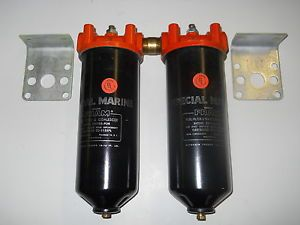 Fram Marine Dual Fuel Filter Water Separators w Filters for Diesel Gasoline