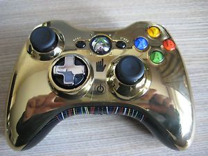Xbox 360 Limited Edition Controller Star Wars Gold C 3PO Wireless Controller