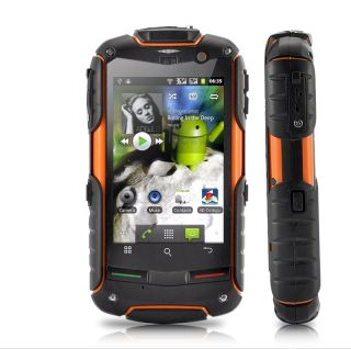 AGM Rock V5 Tradesman Waterproof Shockproof Android 2 3 Dual Sim Mobile Phone