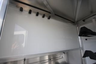 2012 cm Trailers 16' 3 Horse Trailer Slant Load w Drop Down Feed Doors