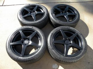 "20"" Niche GT Wheels Land Range Rover HSE Sport Matte Black Michelin Tires"