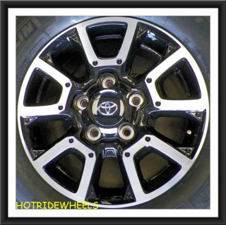 "18"" Toyota Tundra 2014 Wheels with Michelin Tires 275 65 18 137C"