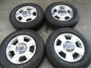 "17"" Ford Expedition F150 Wheels w Michelin Tires 6 Lug 6x135 22 Ford Rims"