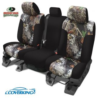 Chevy Silverado 1500 Coverking Mossy Oak Camo Seat Covers Front Row