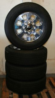 "18"" GMC Sierra Pick Up Factory Alloy Wheels with Goodyear Tires Set of 4"
