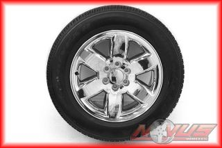 "New 20"" GMC Yukon Sierra Chevy Tahoe Silverado Wheels Goodyear Tires 22"