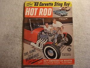 Hot Rod 1962 October Hot Rods Customs Race Cars Trucks Dragsters