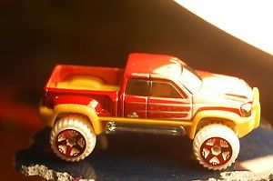 '11 Hot Wheels Mega Duty 4x4 Pick Up Truck Red Holiday Hot Rods Target Store