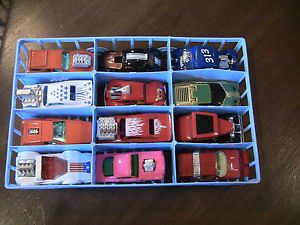Lot of 35 Matchbox Superfast Sports Cars and Hot Rods w Case 1970's 80'S