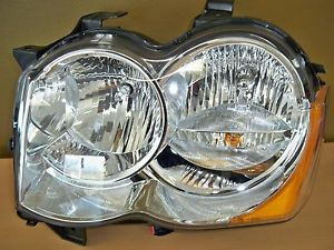 2008 2010 Jeep Grand Cherokee SRT 8 New Headlight Assembly LH