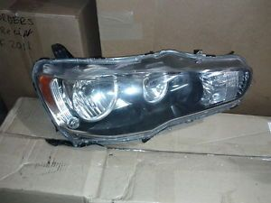 Mitsubishi Lancer Evolution EVO x 10 Passenger Headlight Assembly Non HID