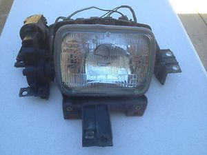 1984 1989 Corvette Headlight Assembly and Motor Driver Left Side