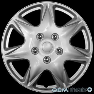 "4 New Silver 17"" Hub Caps Fits Ford SUV Minivan Car Center Wheel Covers Set"