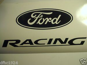 Ford Racing Decal Car or Truck Decals Set of 2 Your Choice of Color